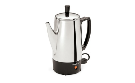 Presto 02822 6-Cup Stainless-Steel Coffee Percolator e4152f5a-2a38-483a-a45b-782999f9bbb3