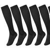 Briefly  Unisex Knee-High Travel Socks (5-Pack)