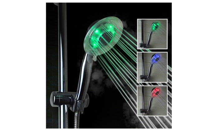 Innoo Tech Led Shower Head Color Changing Light Water Temperature