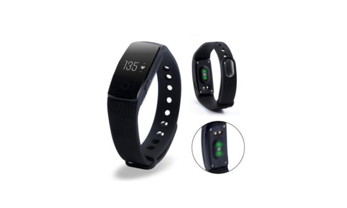 Smart Watch Heart Rate Monitor Pedometer Fitness Wristband Bracelet