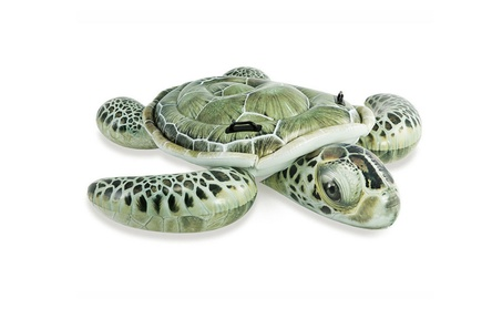 Realistic Sea Turtle Swimming Pool Ride On Inflatable Float 36599dd7-0ad6-4631-bc49-6ec5e214c62d