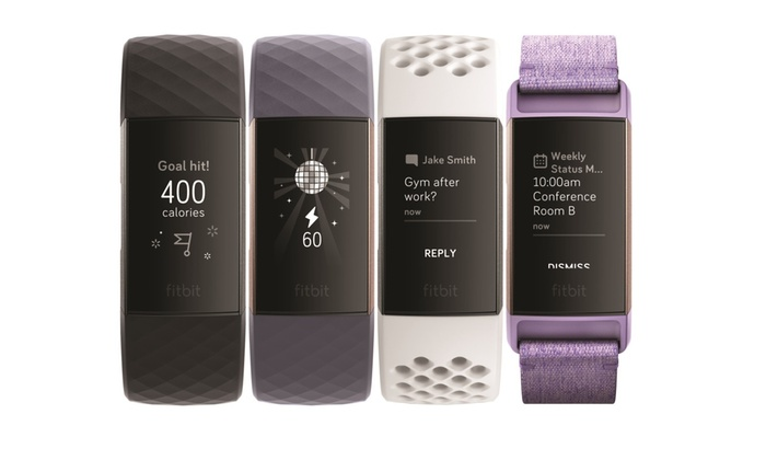 Fitbit Charge 3 Advanced Fitness Tracker | Groupon
