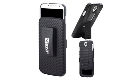 Laza Holster and Case Combo with Double Kickstands for Samsung Galaxy S3, Samsung Galaxy S4 and Samsung Galaxy S5