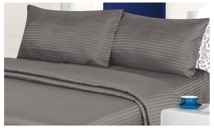 4 Piece Ultra Soft Bed Sheet Set In 9 Colors ...