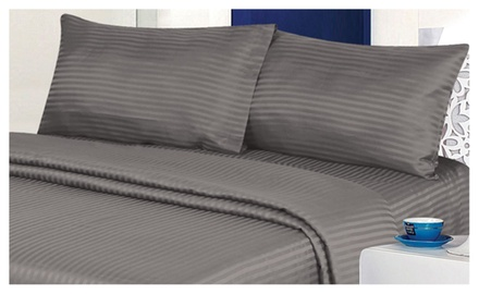 4 Piece Ultra Soft Bed Sheet Set in 9 Colors