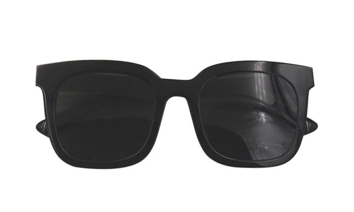 a7516f6d5bf Gentle Monster Acetate Sunglasses Finn Black Frame Black Lenses ...