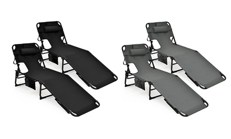 Folding Recliner Chaise Lounge Chairs