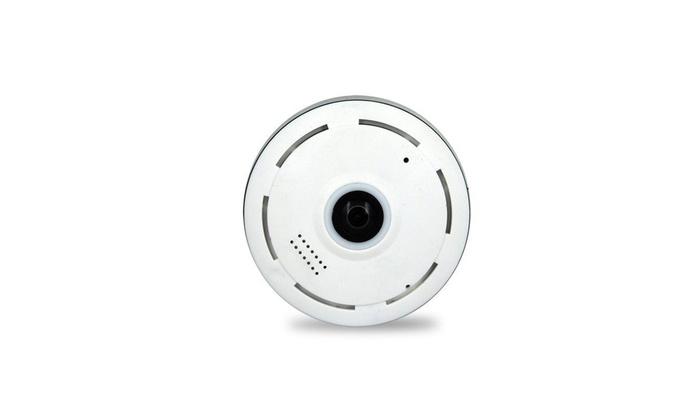 1080P V380 360 degree Panoramic Fisheye Wifi Baby,Pet Security Monitor IP Camera
