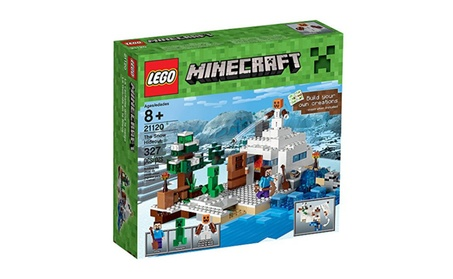 LEGO Minecraft The Snow Hideout 21120 Minecraft Toy c97d7994-5072-49d7-b43e-5862705d3185