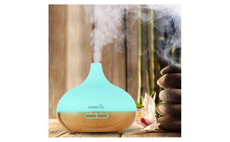 Easehold Air Oil Humidifier Purifiers 300ml Wood Grain Base LED Light c6aacf11-acd4-44d7-8f6e-214e60911ad0