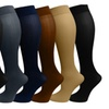 Comfortable High Knee Compression Socks For Ladies (6 Packs)