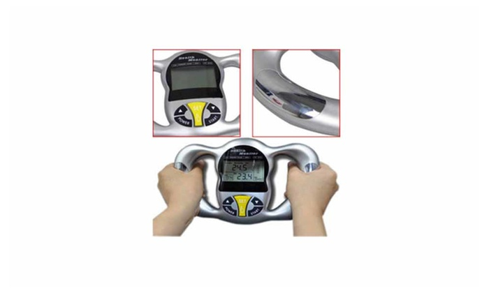 Prosessional Handheld Body Fat Analyzer Monitor Easy to Use