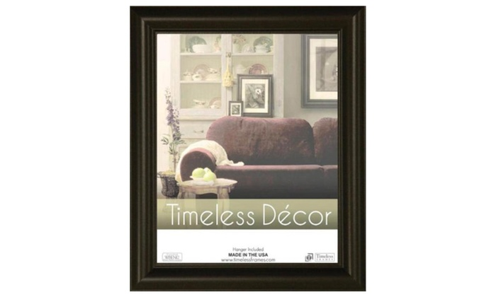 Timeless Frames 78063 Boca Black Wall Frame, 11 x 17 in. | Groupon