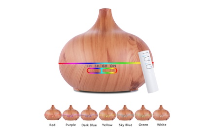 Aromatherapy Essential Oil Diffuser Ultrasonic Wood Color Was: $49 Now: $21.99.