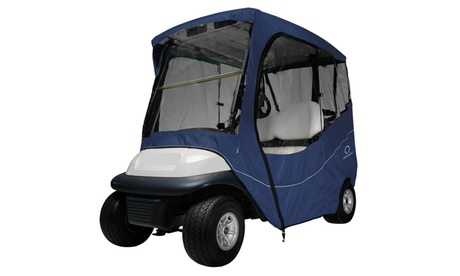 Fairway Travel Golf Car Enclosure, Short Roof, Navy 7e4da718-48fc-4742-8a1c-5127545569ec