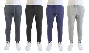 Men's Soft-Touch Joggers with Pockets