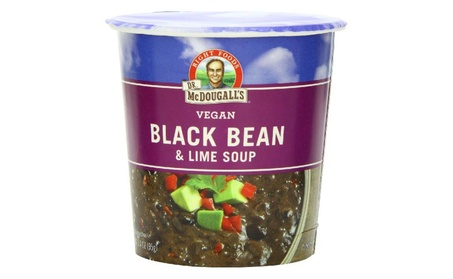 Dr. Mcdougall's Vegan Black Bean & Lime Soup, 3.4 Ounce (Pack of 6) faa58b13-f52d-4752-af05-1090b6bddf29