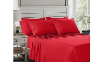 1800 Egyptian Comfort 6-piece Deep Pocket Bed Sheet Set (14 Color Options)