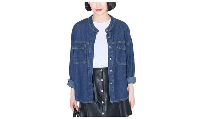 DPN Women's New 2015 Autumn Stylish Warm Denim Jackets