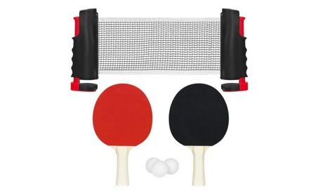 Ping Pong Table Tennis Game Set W/ Paddles Balls 185b79bb-0bca-4563-96d6-f4461f2610b9