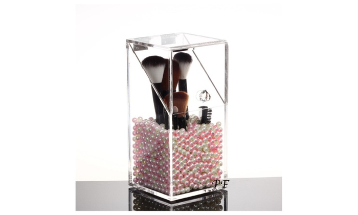 brush holder beads. speedtalk mobile: makeup brush holder organizer acrylic 5mm dust free with pearls/beads beads s