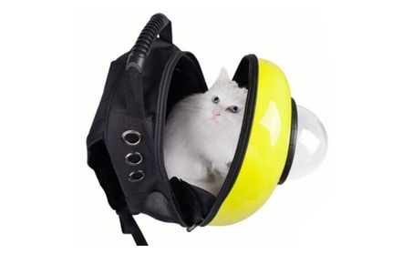 Dog Cat Pet Breathable Safety Carrier Backpack Accessories 8de6c5e0-12fc-41e9-9ac7-a8012f49a468