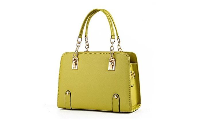 Women Shoulder Bags Vintage Multi-purpose Handbag - Apple Green 5 / One Size