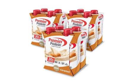 Premier Protein 30g Protein Shake, Caramel, 12 Count ca0aafc2-008e-4ab5-8f0b-7531eed40a28