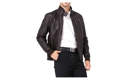 Men's Fashion Motorbike Leather Jacket 0f1e6352-e3d2-4b48-ab11-6f4e18a5bf99