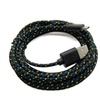 Extra Long Fiber Cloth Sync & Charge USB Android Cable
