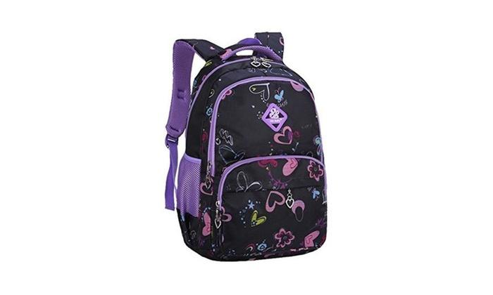 Valteen Girls Colorful Kids Pupil Book Bags School Backpacks | Groupon