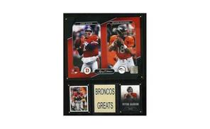 CandICollectables-John Elway-Peyton Manning Denver Broncos Legacy Coll