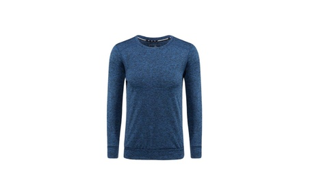 LINGO Men's thickening Warm Long Sleeved Round-neck T-shirt 9491e939-4319-4479-9e28-3ceb6942a98d