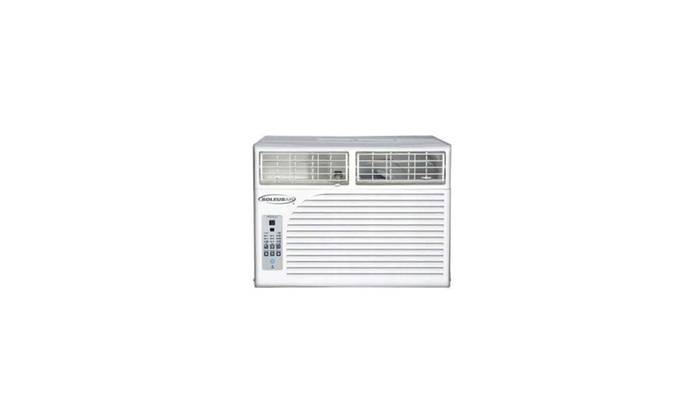 Soleus Air WM1-08E-02 8,000 BTU 115-Volt Window Air Conditioner Refurbished