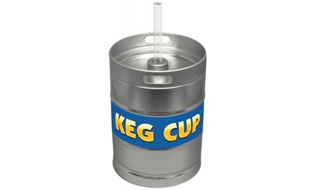 Keg Cup W/ Lets Get Trash Game Card c27564f2-e5ef-46aa-b771-266464e351cd