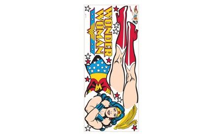 Roommates Decor Classic Wonder Woman Giant Wall Decals 52447cb7-469f-473c-9305-71663072b8b1