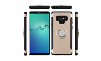 For Samsung Galaxy Note 9 Ring Holder Shockproof Rugged Armor Case