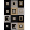 Easton Collection Area Rug - Squares