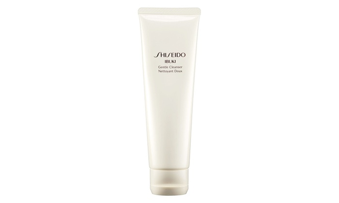 4 Pack - Shiseido Ibuki Gentle Cleanser 4.50 oz Donna Bella 24K Gold Collagen Radiance Renewal Mask - 50ml - Contains Pearls & Gold And Helps Restore Volume To Skin