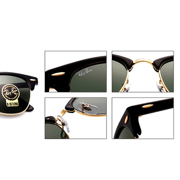 126ff7f73c12e Ray-Ban Classic Clubmaster   Aluminum for Women and Men
