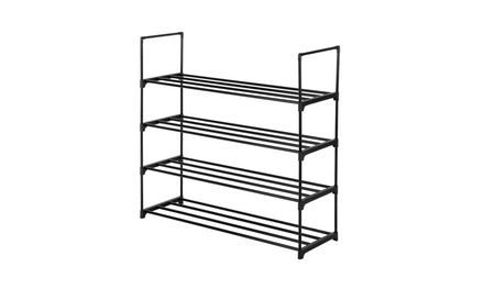 3/4/5 Tiered Shoe Rack Shoe Tower Organizer