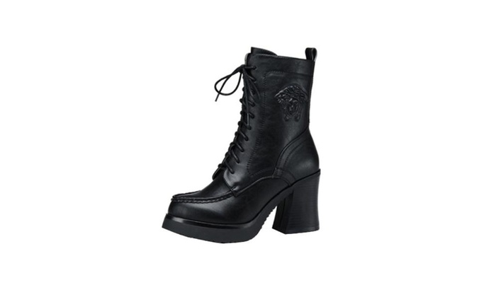 Women's Stitched Casual Marten Boots Shoes