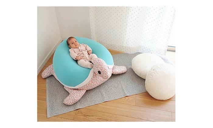 Kids & Baby bean bag Floor pillow Giant animal shaped turtle Bean ...