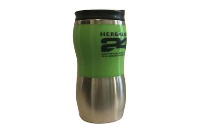 Herbalife 24 Nutrition 500ml Stainless Steel Coffee Mug - Green 5f64a096-c40b-4fc9-ac88-78babc47b8a0