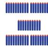 50 Lot NERF N-Strike Blue Gun Bullet Soft Darts Round Head