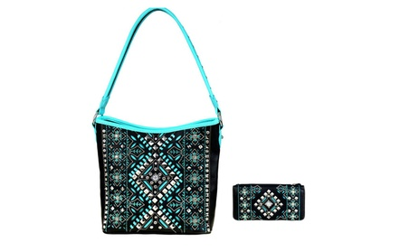 Montana West Conceal Carry Purse with Wallet (Goods Women's Fashion Accessories Handbags) photo