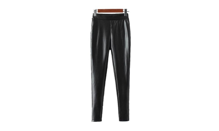Women's Straight Solid Insulation New Arrival Casual Pants