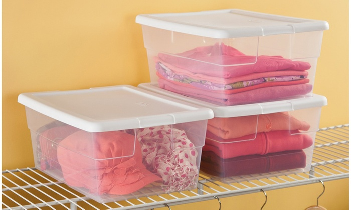 ... Stackable Shoe Storage Box Or Storage Bin (12 Pack) ...
