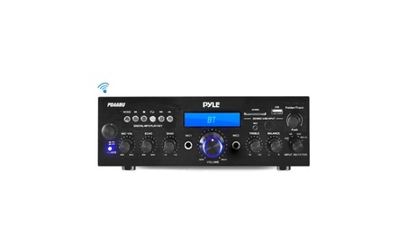 Pyle Audio - Home A-V PDA6BU Bluetooth Stereo Amplifier Receiver