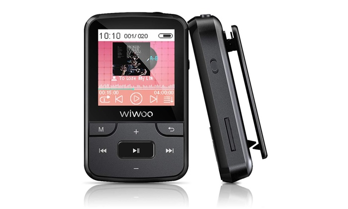 Up To 30 Off On 16gb Bluetooth Mp3 Player Wit Groupon Goods